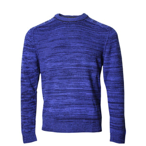 Crosby Crew Neck Sweater in Blue