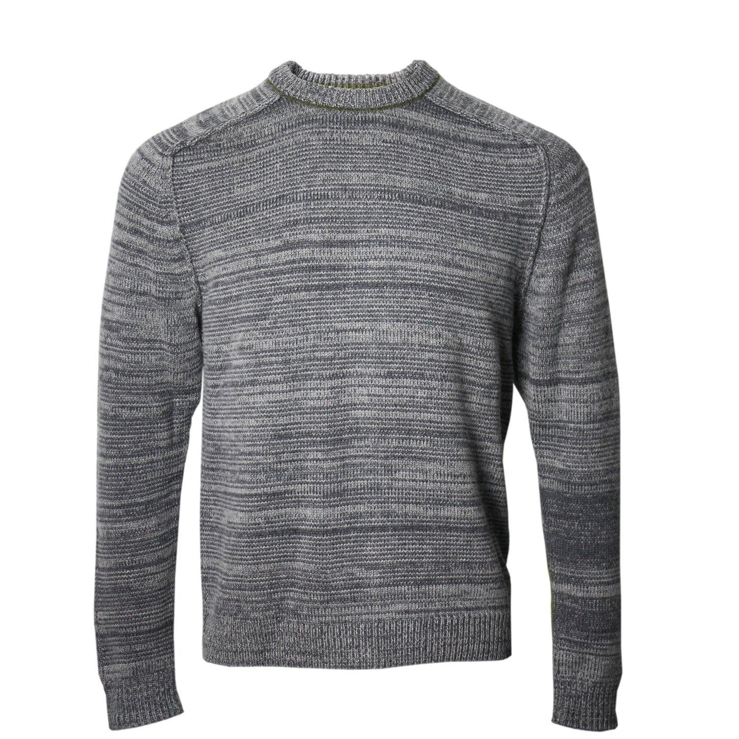 Crosby Crew Neck Sweater in Grey