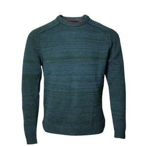 Crosby Crew Neck Sweater in Hunter - Lords Of Harlech