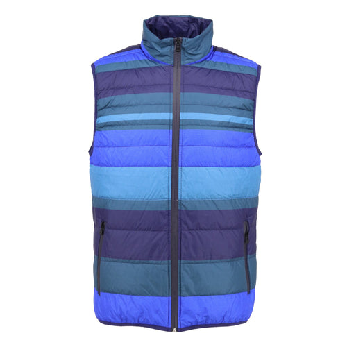 DUCK Striped Down Vest Cold
