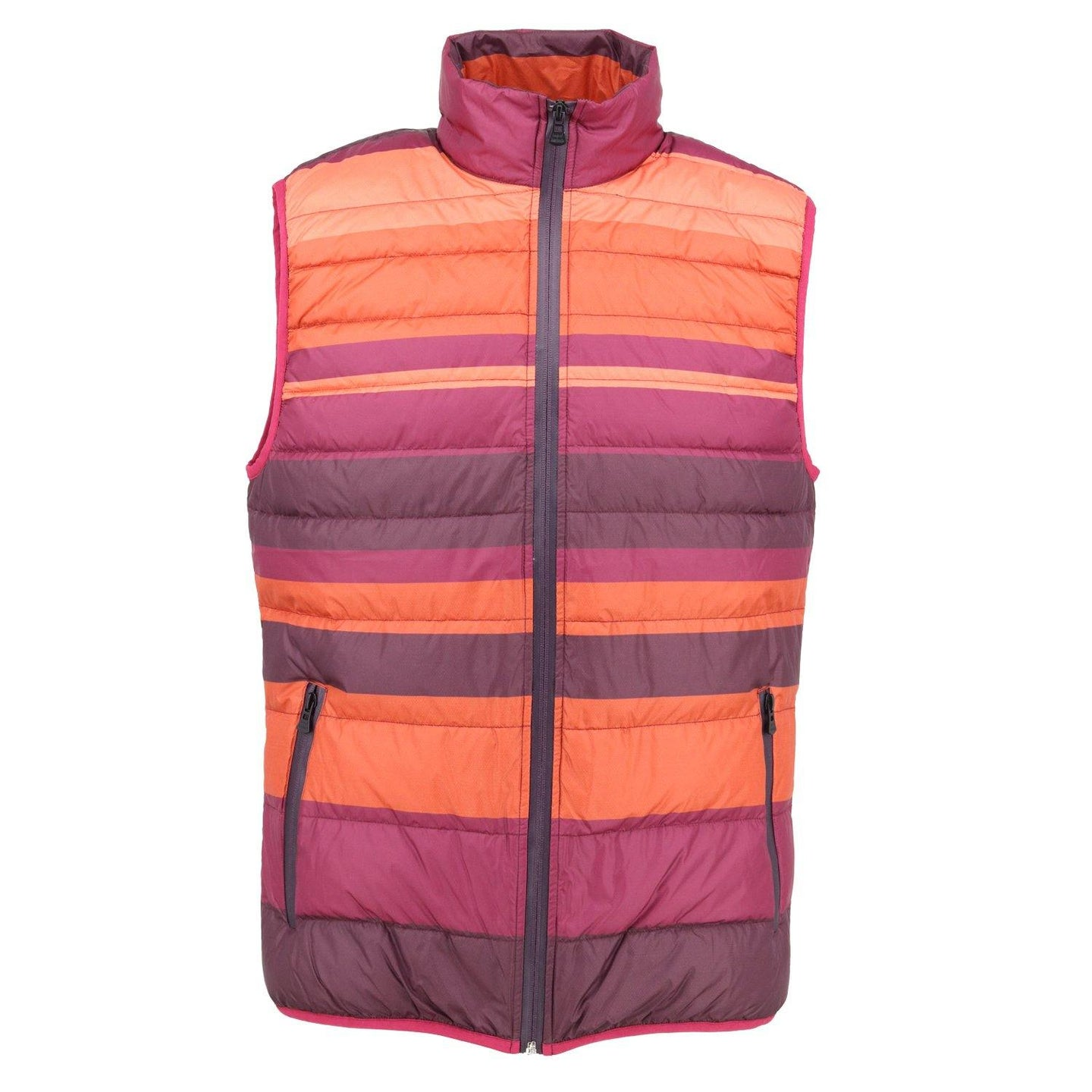 DUCK Striped Down Vest Warm