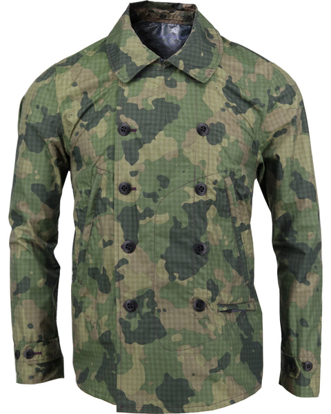 Fritz Jacket in Houndstooth Olive Camo