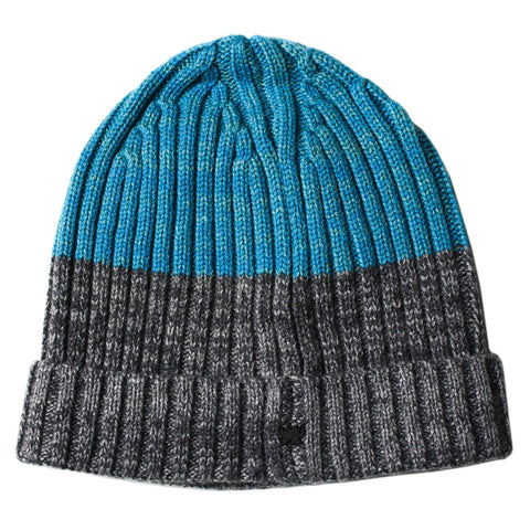 Benny Beanie in Teal/Grey - Lords Of Harlech