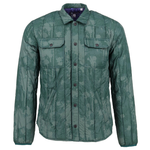 MONKEY Splatter Pine Down Shirt Jacket