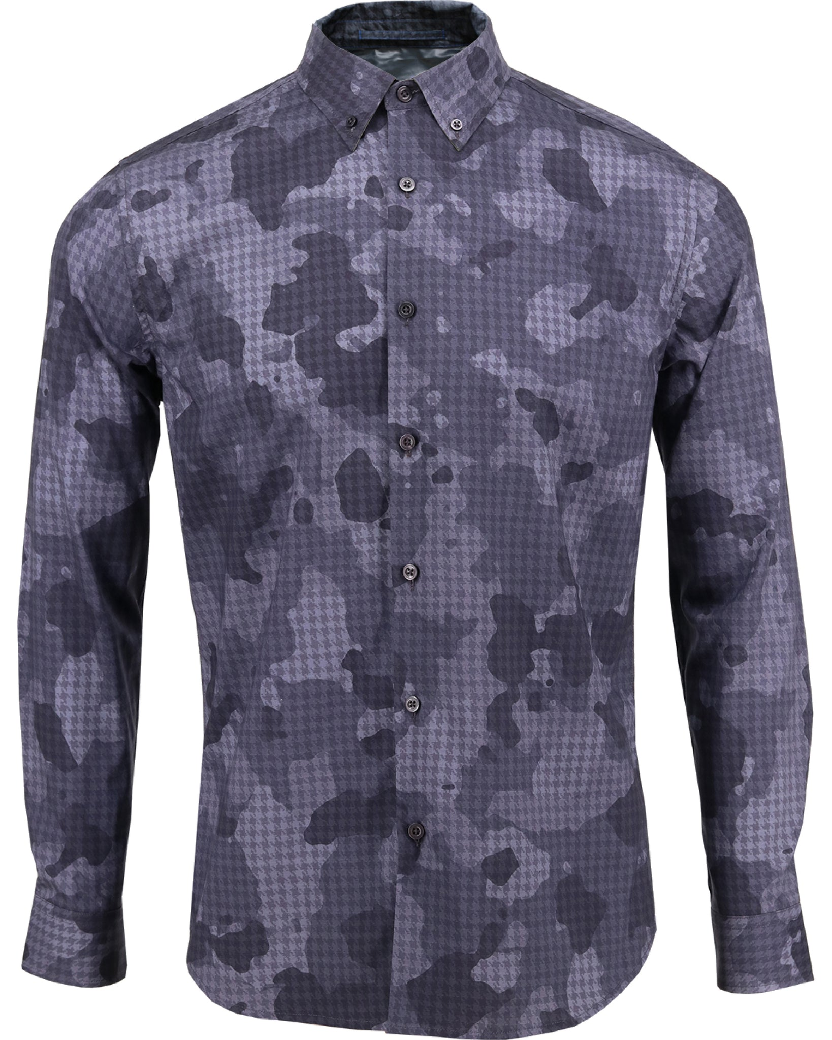 Morris Houndstooth Camo Charcoal