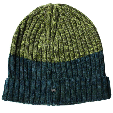 Benny Beanie in Olive/Hunter