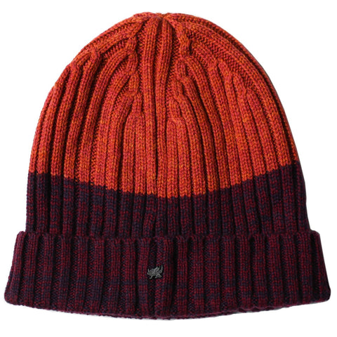 Benny Beanie in Burgundy/Rust - Lords Of Harlech