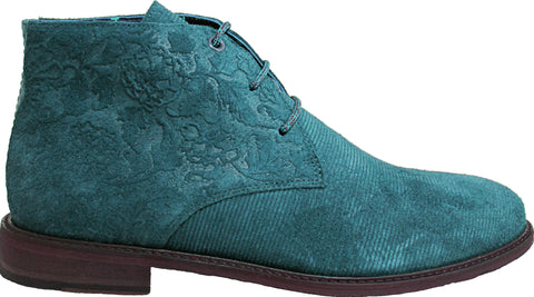 WOODCHUCK Chukka Boot in Teal