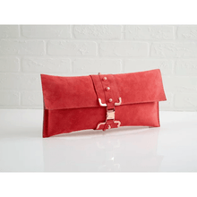 Load image into Gallery viewer, Pink Rose' Midi Clutch