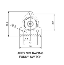 Load image into Gallery viewer, Apex 7 in 1 switch - Apex Sim Racing LLC - Custom Sim Racing Products