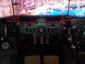PCW Racing Display - Apex Sim Racing LLC - Custom Sim Racing Products