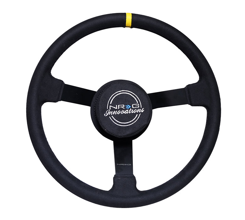 NRG - Nascar Suede Steering Wheel - Apex Sim Racing LLC - Custom Sim Racing Products