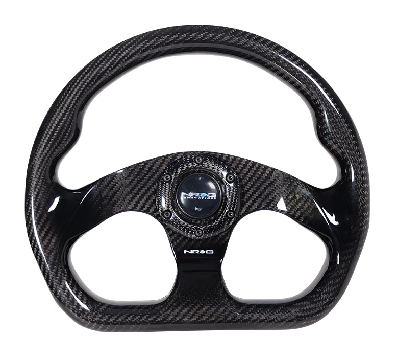 NRG - Full Carbon Fiber Steering Wheel - Apex Sim Racing LLC - Custom Sim Racing Products