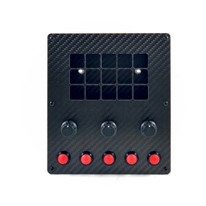 Race Deck Button Box - Apex Sim Racing LLC - Custom Sim Racing Products