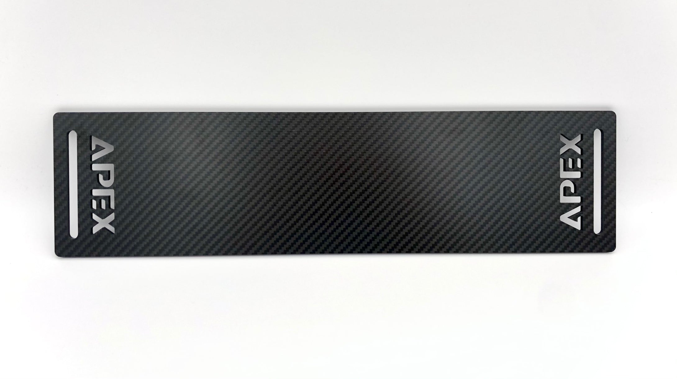 APEX Carbon Fiber Heel Plate - Apex Sim Racing LLC - Custom Sim Racing Products
