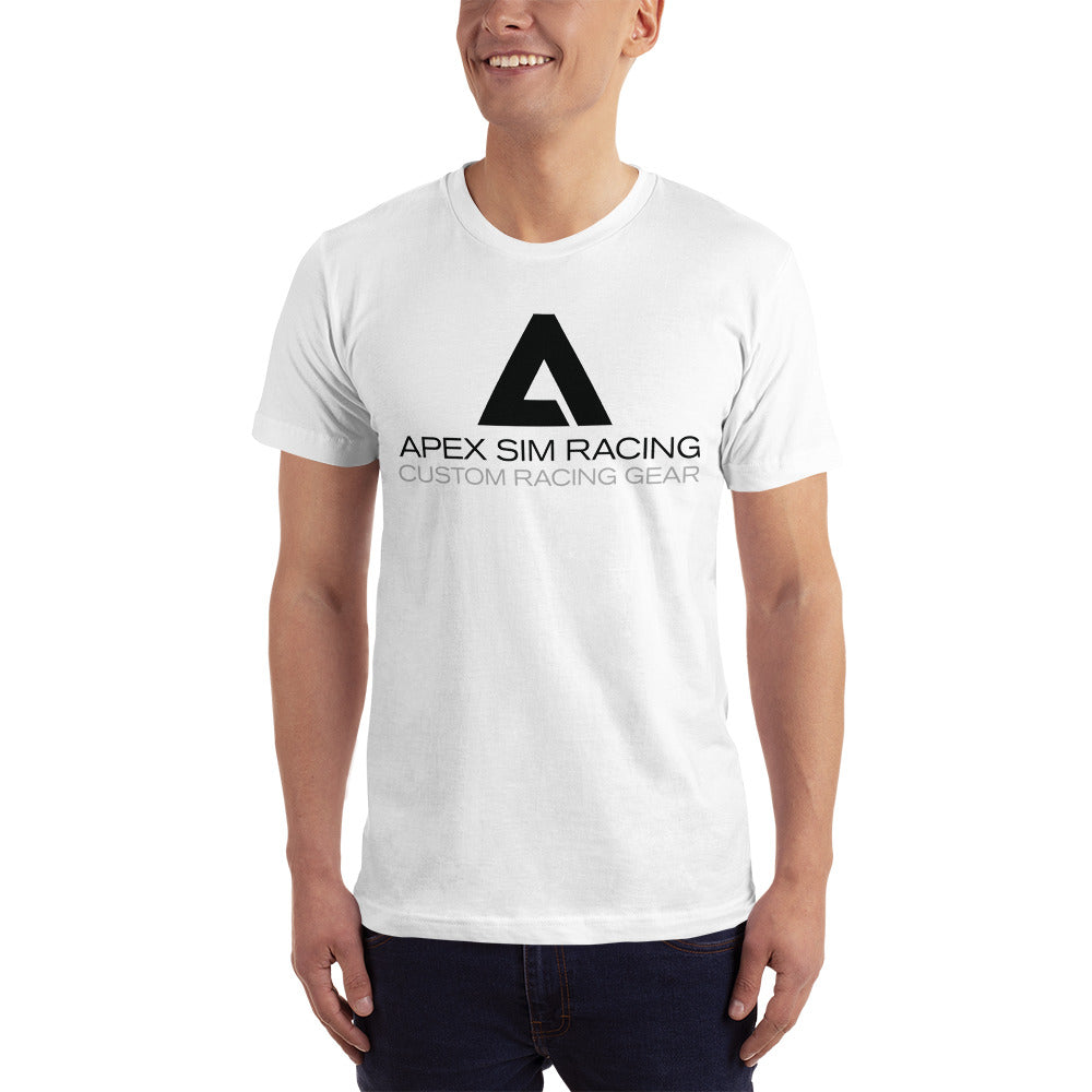 Big A Black logo T-shirt - Apex Sim Racing