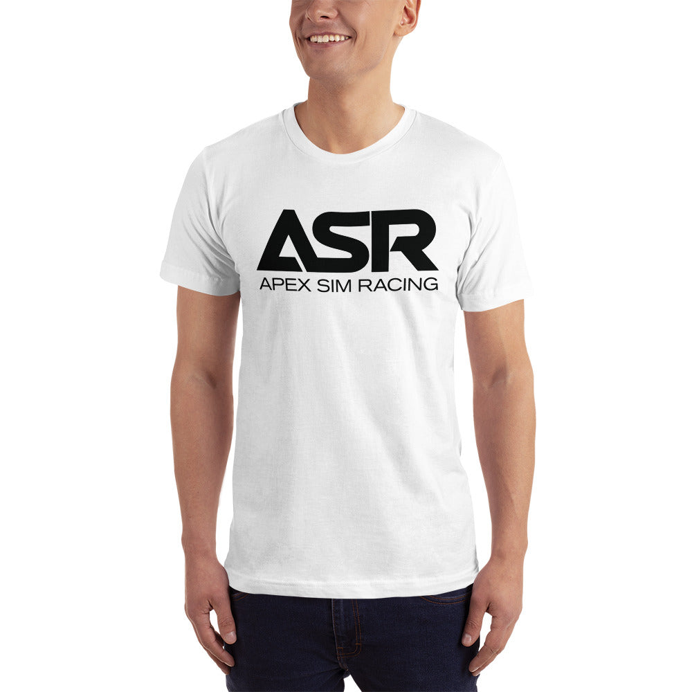 ASR Black Logo T-Shirt - Apex Sim Racing