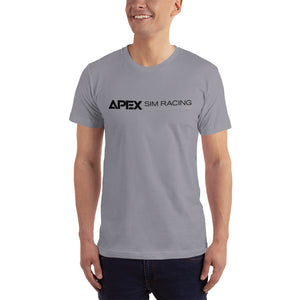 Apex Sim Racing Black Logo T-shirt - Apex Sim Racing LLC - Custom Sim Racing Products