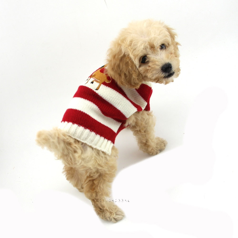 Christmas Sweater For Small Dogs/Cats
