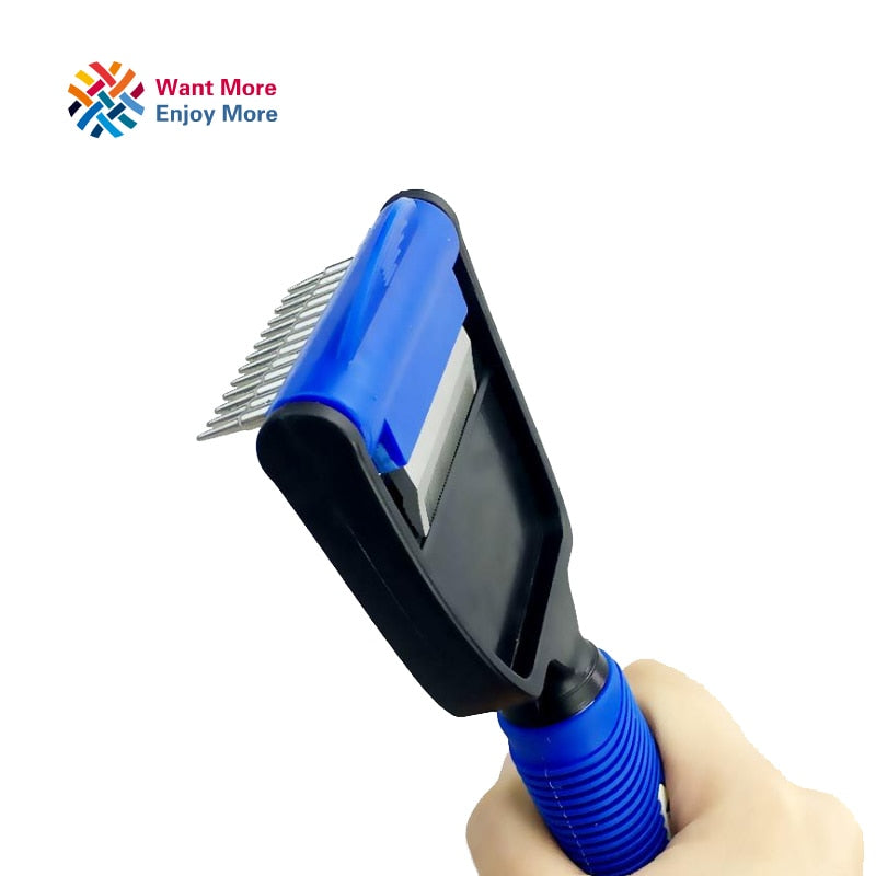 2 in 1 Pet Groomer Brush/Comb