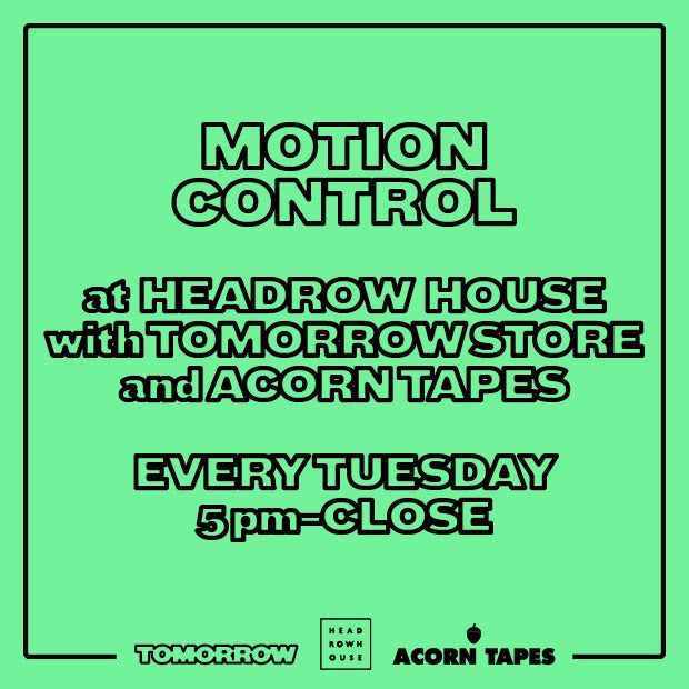 Motion Control - Weekly Musical Selections