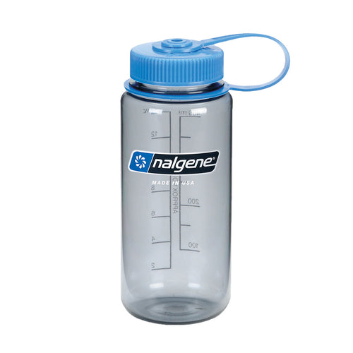 Nalgene - Wide Mouth Tritan 500ml Water Bottle - Grey