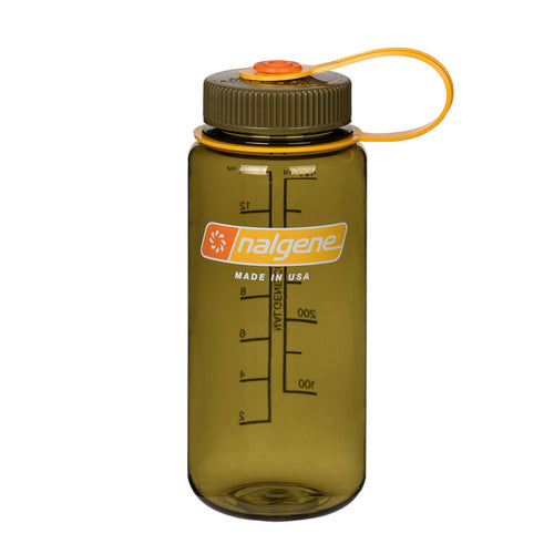 Nalgene - Wide Mouth Tritan 500ml Water Bottle - Olive