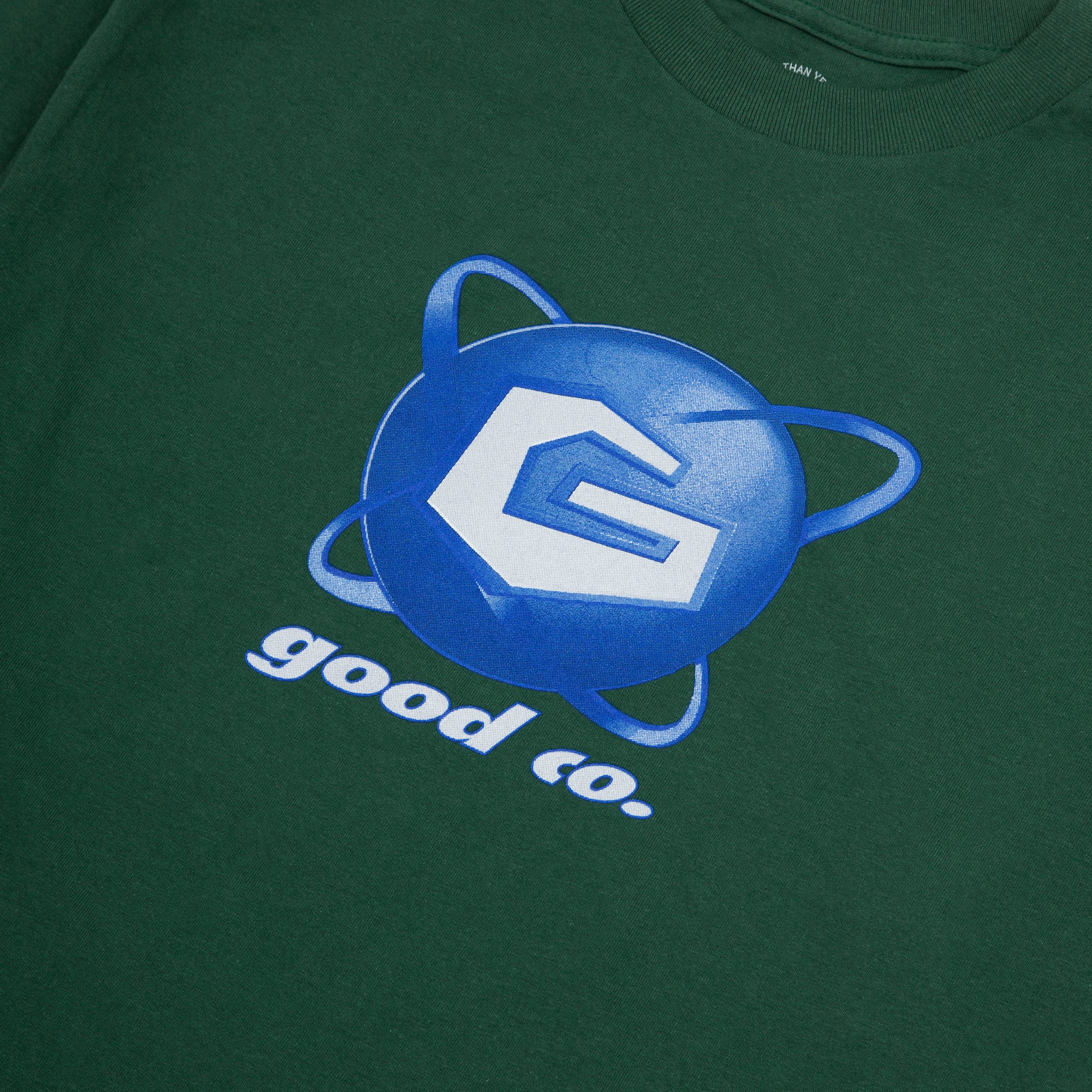 The Good Company - The Good Co - Galaxy Long Sleeve T-Shirt - Green