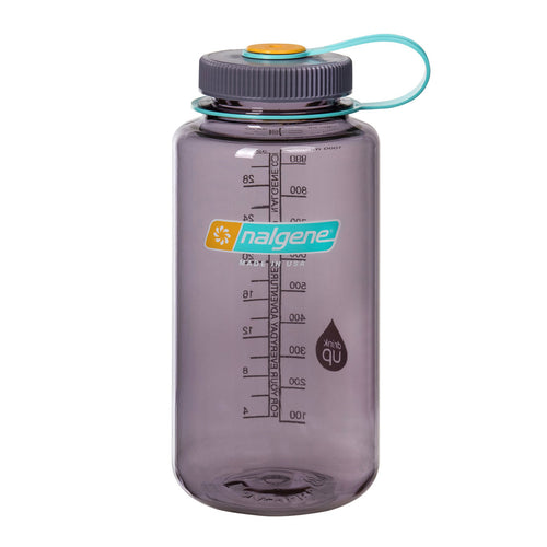 Nalgene - Wide Mouth Tritan 1L Water Bottle - Aubergine