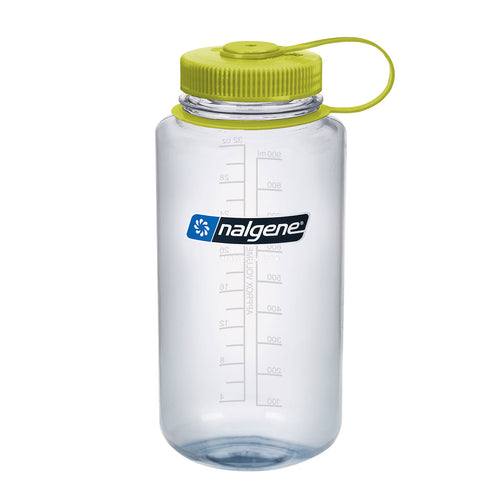 Nalgene - Wide Mouth Tritan 1L Water Bottle - Clear