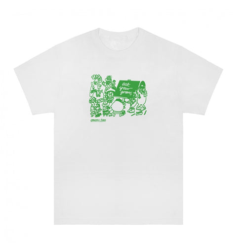 Tomorrow x Eat Your Greens - Classroom T-Shirt - White