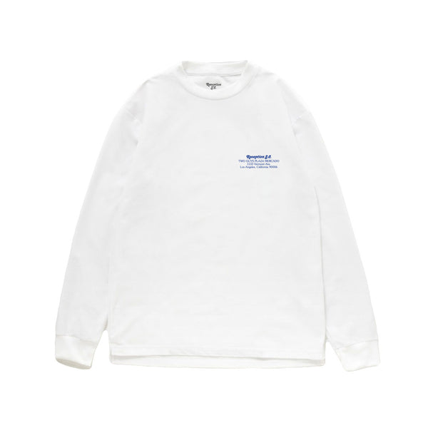 Reception - Reception - Two Guys Long Sleeve T-Shirt - White