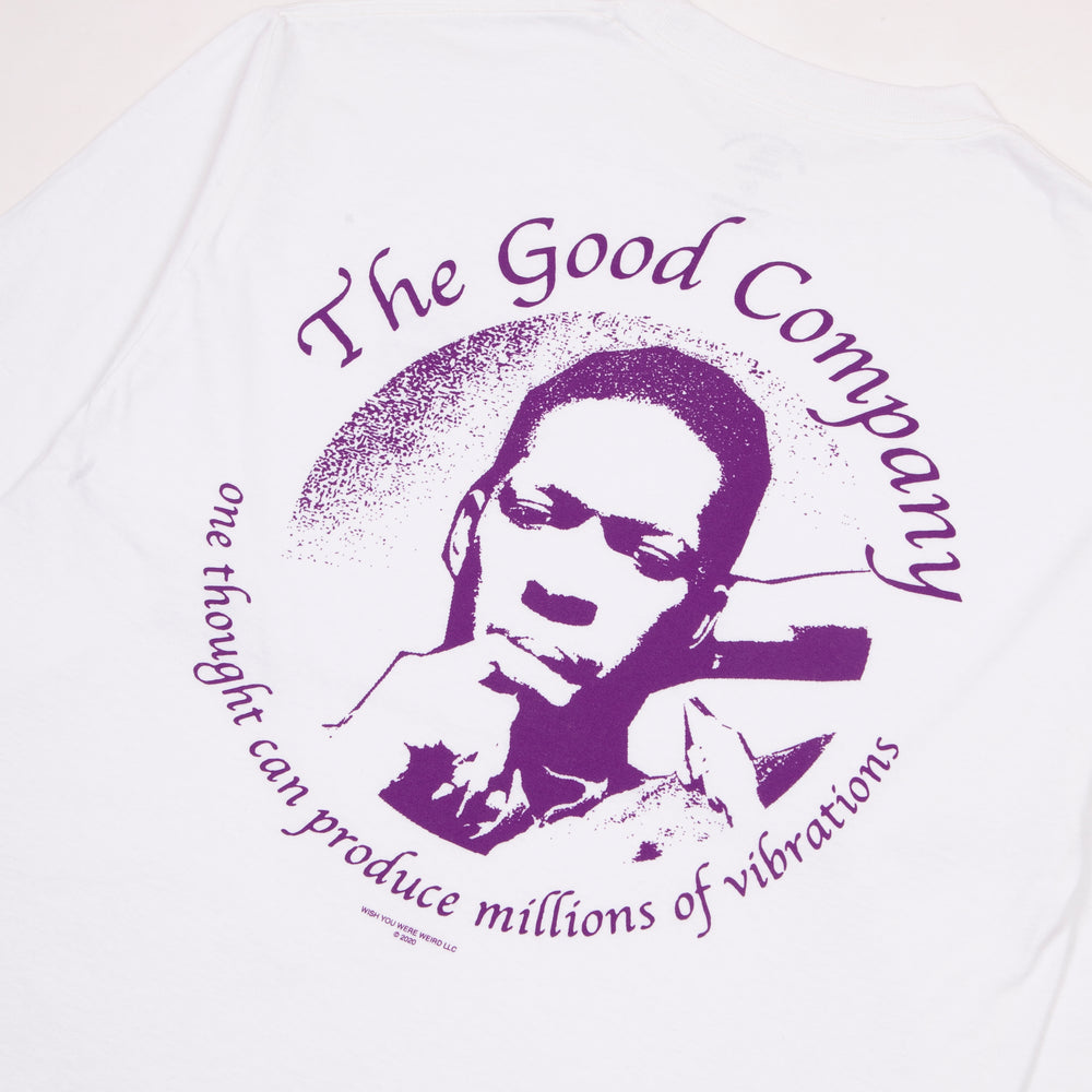 The Good Company - The Good Co - Vibrations Long Sleeve T-Shirt - White