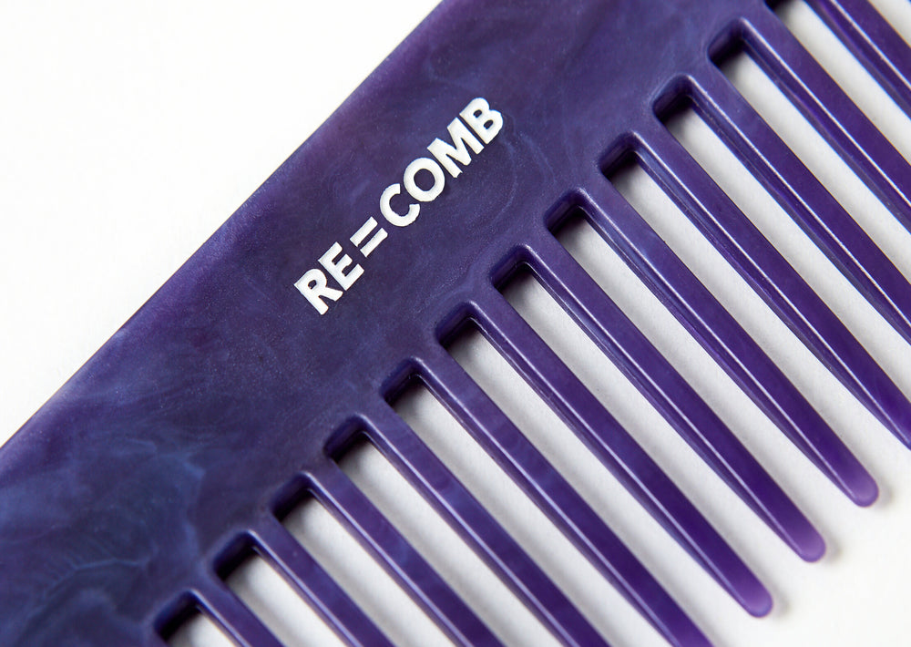 Re=Comb - Re=Comb - Recycled Plastic Comb - Purple