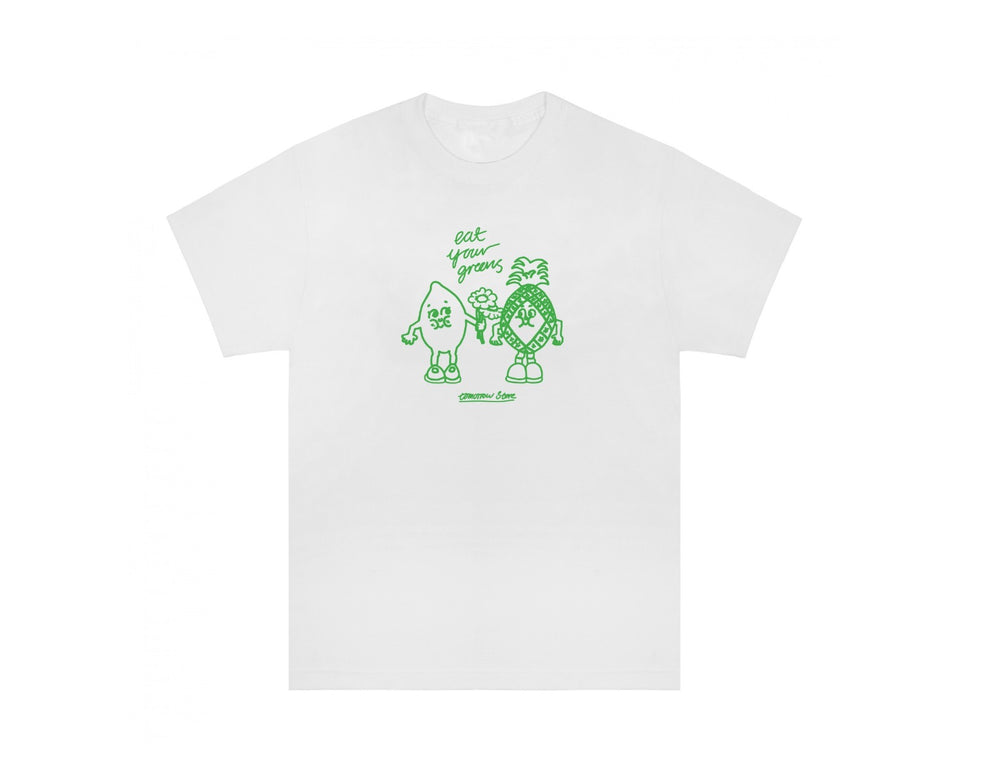 Tomorrow - Tomorrow x Eat Your Greens - Mates T-Shirt - White