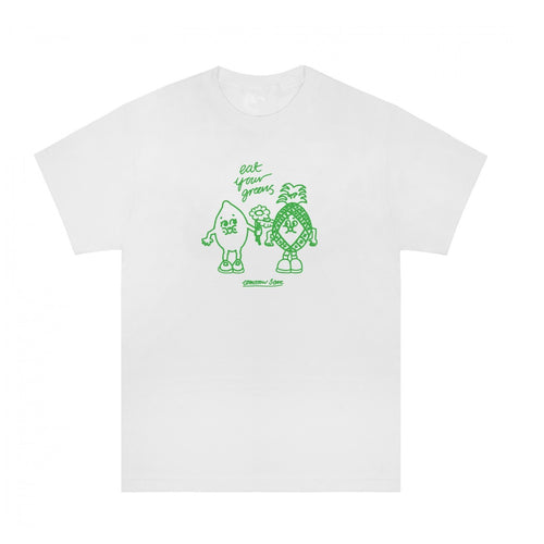 Tomorrow x Eat Your Greens - Mates T-Shirt - White