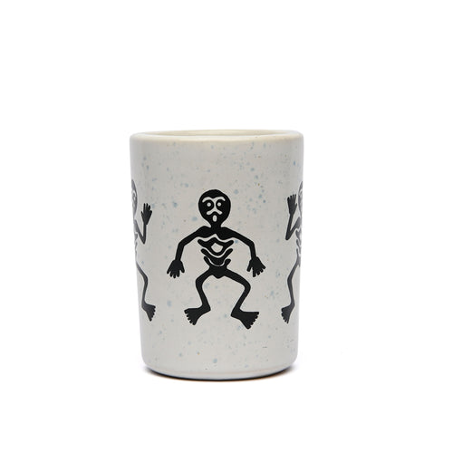 Domestik - Dance Tribe Mug - White