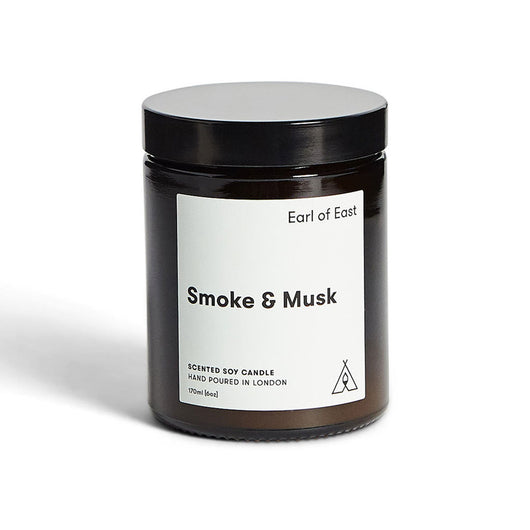 Earl of East - 170ml Soy Wax Candle - Smoke & Musk