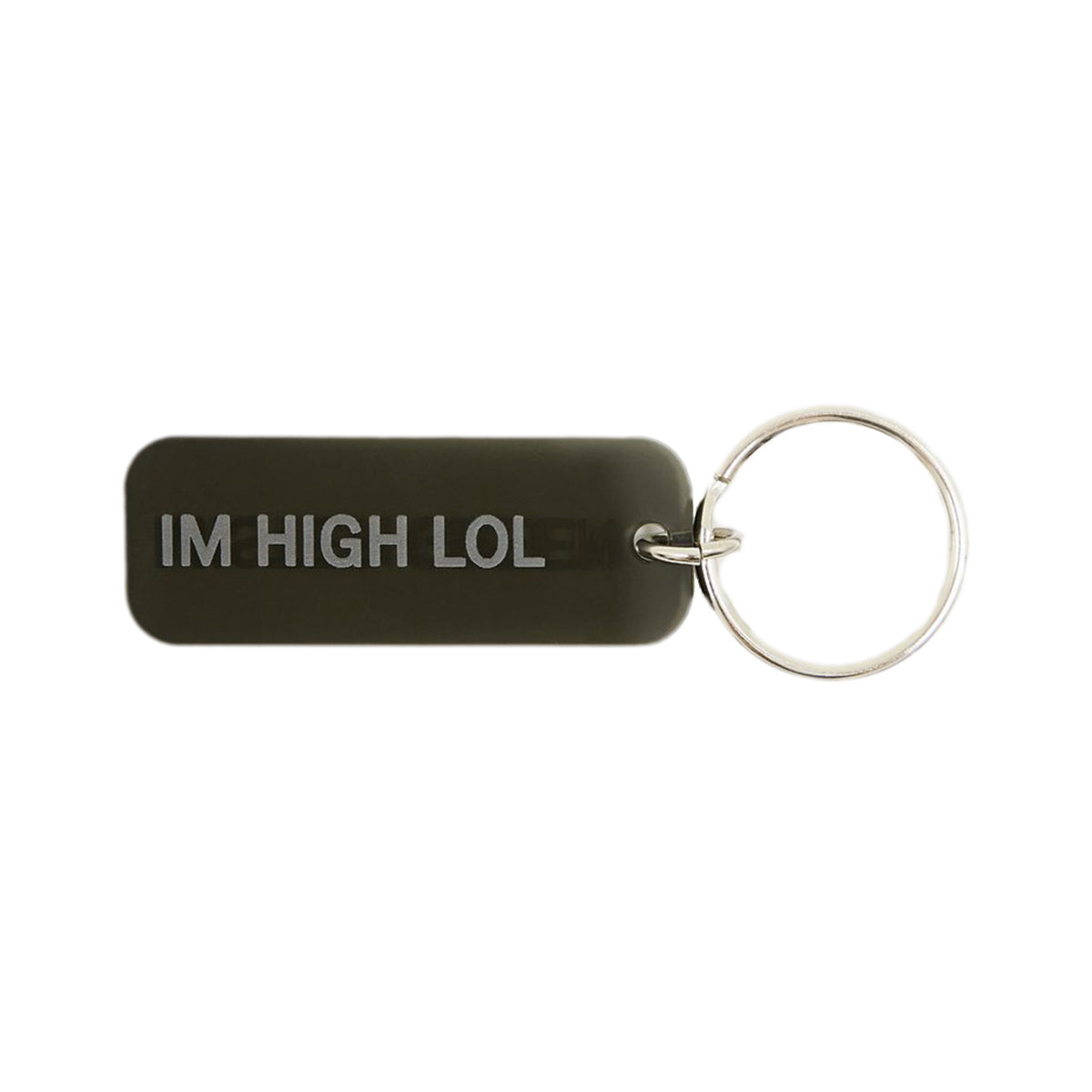 Mister Green - Mister Green - I'm High Lol Keyring - Black