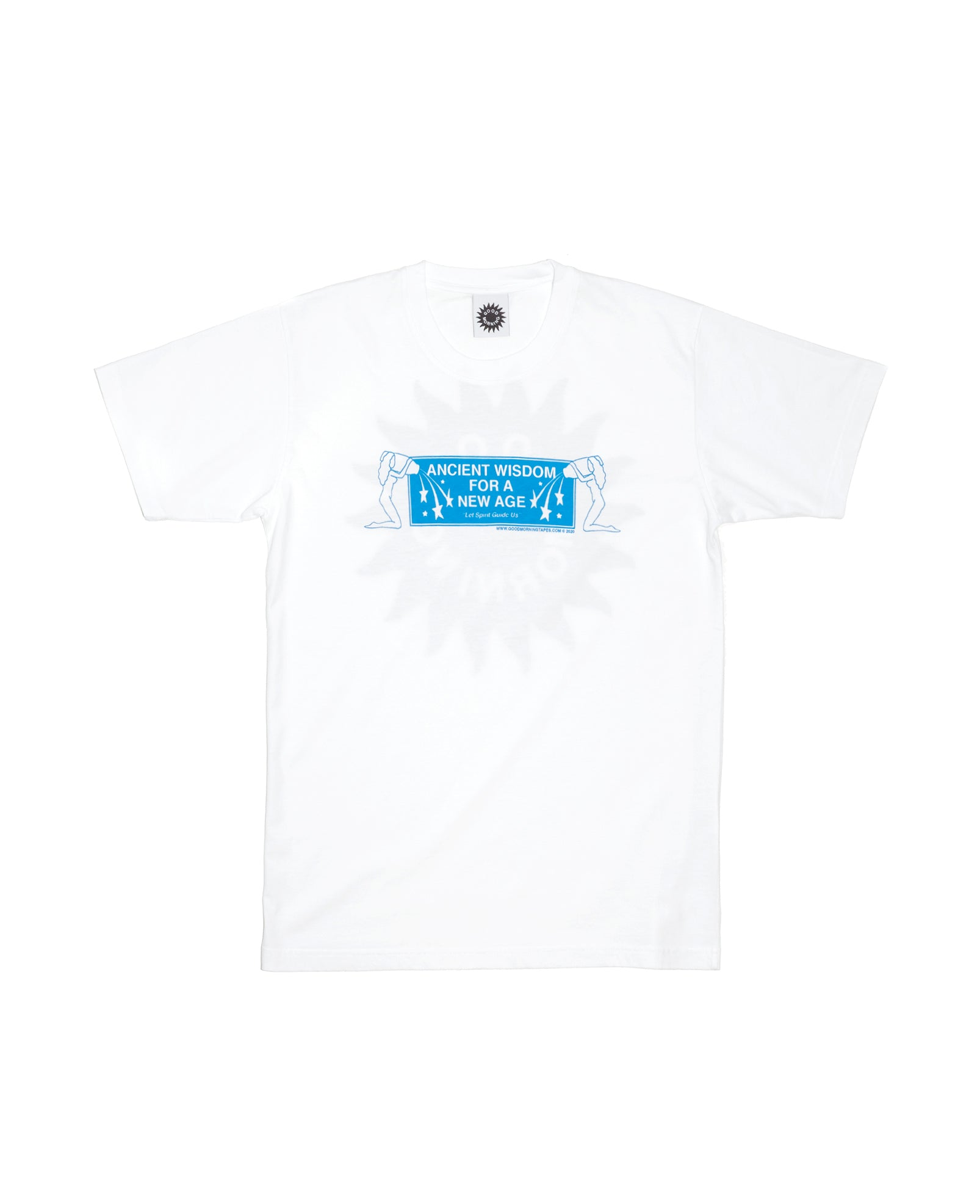 Good Morning Tapes - Good Morning Tapes - Ancient Wisdom T-Shirt - White