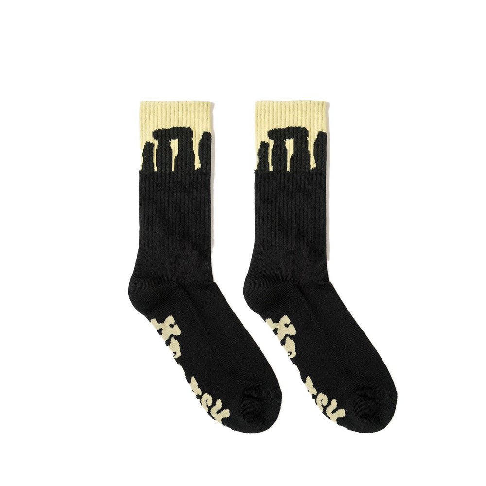 Heresy - Heresy - Henge Socks - Black & Yellow