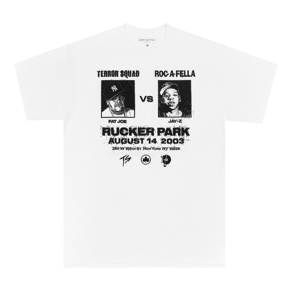 Full Court Press - Full Court Press - Rucker Tee - White