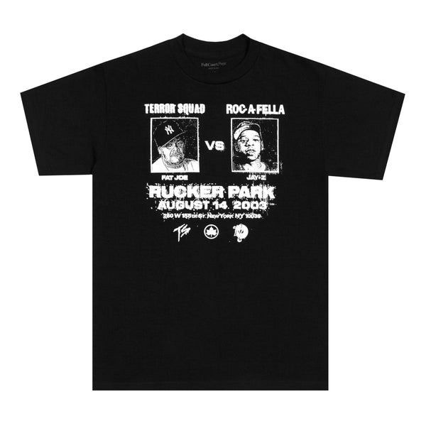 Full Court Press - Full Court Press - Rucker Tee - Black
