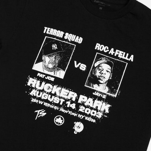 Full Court Press - Rucker Tee - Black