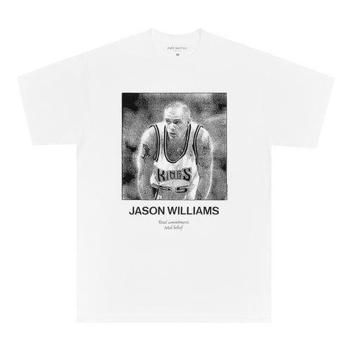 Full Court Press - Jason Williams Tee - White