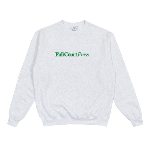 Full Court Press - Logo Crewneck - Ash Grey