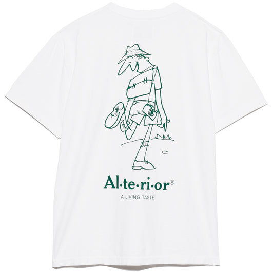 Jam for Alterior - Hiker Tee - White