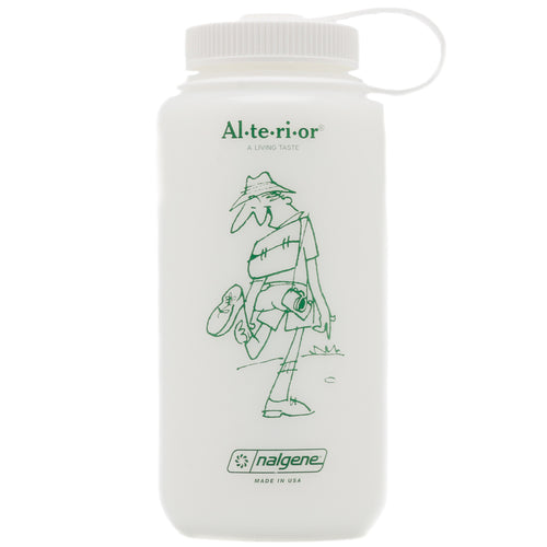 JAM for Alterior - 32oz Nalgene Wide Mouth Bottle - Frosted White
