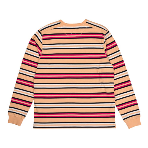 Pop Trading Co - Striped long sleeve Tee - Multi