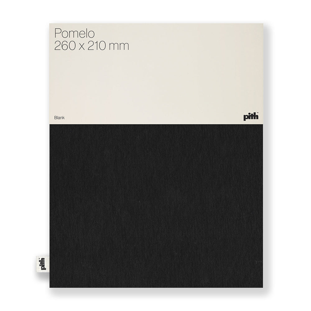 Pith - Pith - Pomelo Notebook - Black
